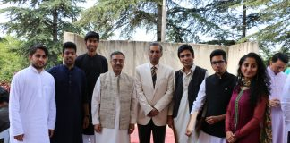 Embassy Hosts Eid Milan Party
