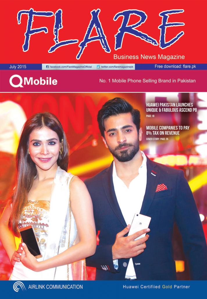 Flare Magazine july 2015