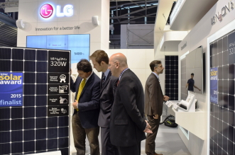 Intersolar Europe LG Stand