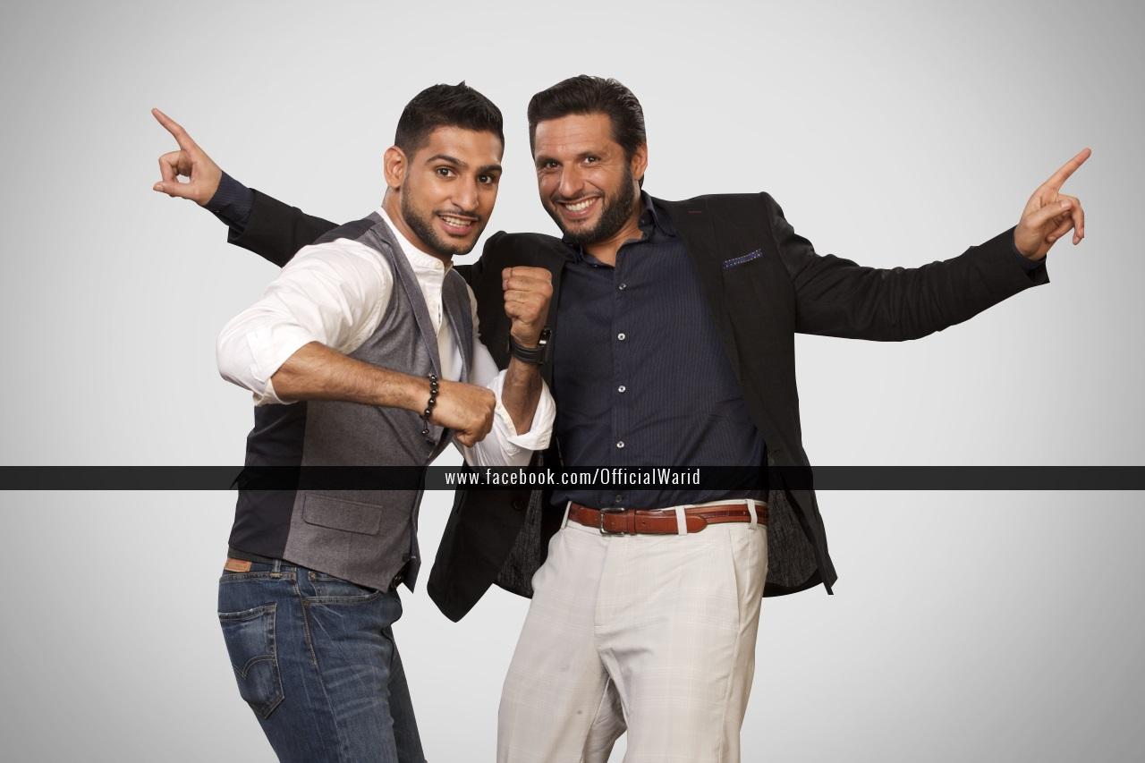Amir and Shahid