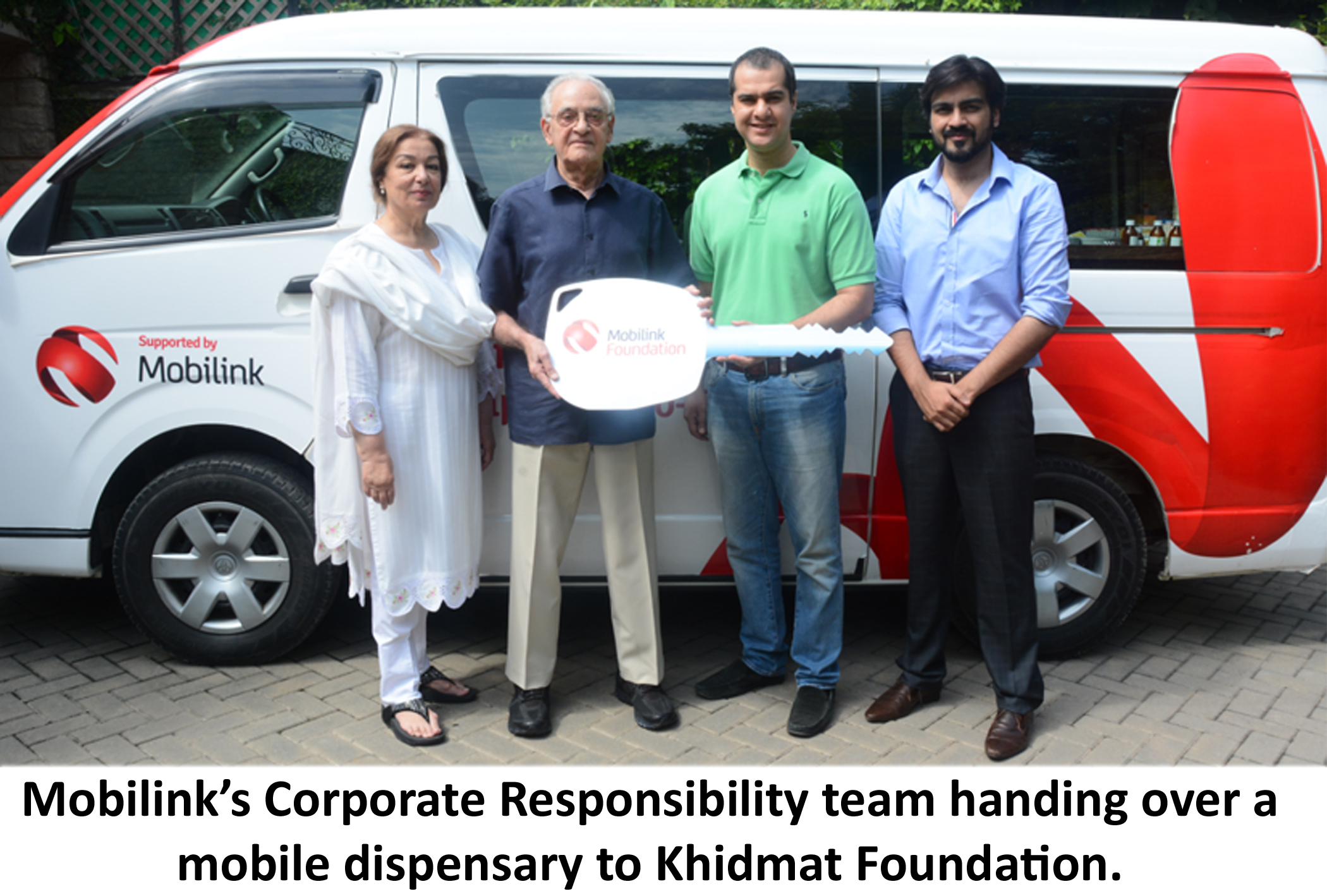 Mobilink Donates Khidmat English