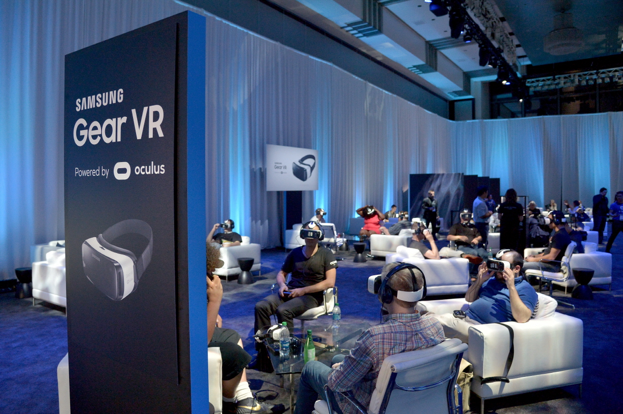 Samsung today announced its first Gear VR device