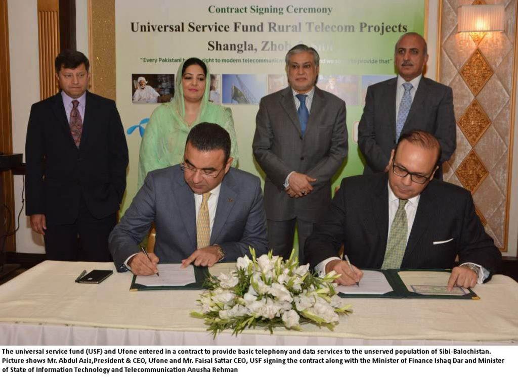 Ufone and Faisal Sattar CEO
