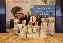 Intel Sindh Science Fair Grand Winners