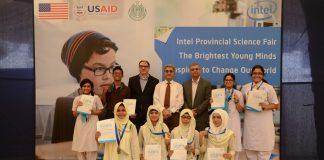 Intel Sindh Science Fair Grand Winners