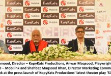 Mobilink exclusively brings Anwar Maqsood's 'Siachen' by Kopykats Productions