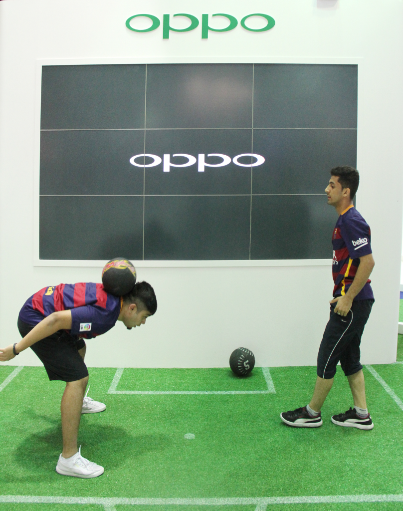 OPPO Exihibition in GITEX 1