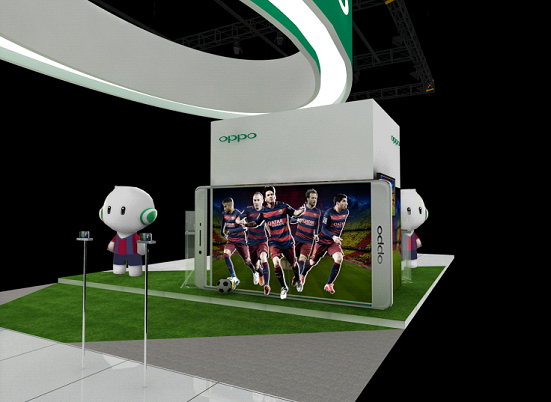 OPPO Exihibition in GITEX