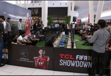 TCL Holds Biggest FIFA18