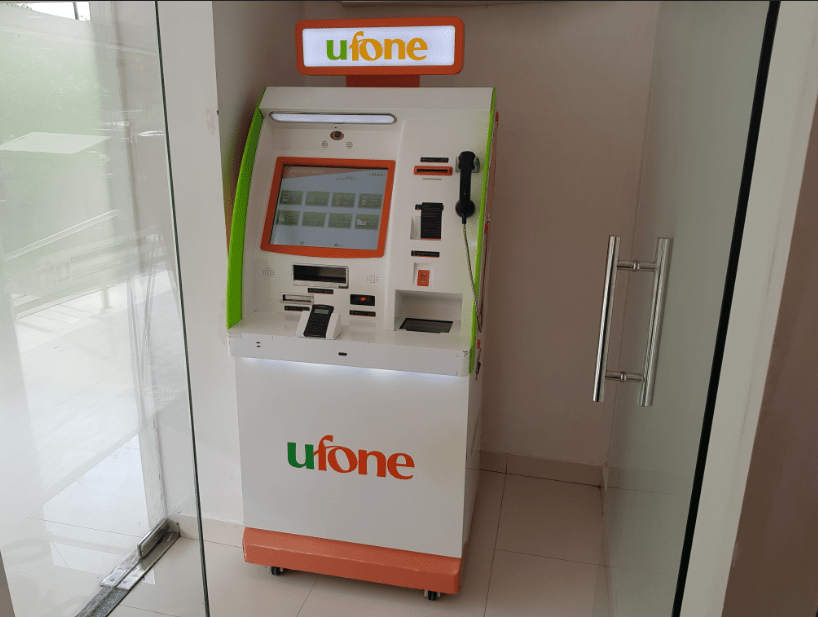 Ufone's Self Service booths make services available 24/7 | Flare