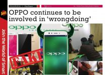 OPPO continues to be involved in wrong doing