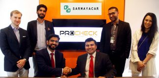 Sarmayacar backs ProCheck through $250,000 in Seed Financing