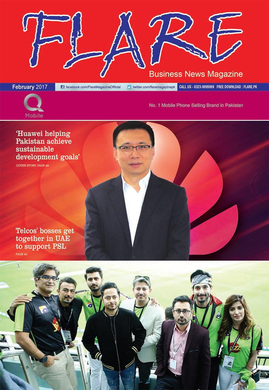 Flare Magazine February 2017