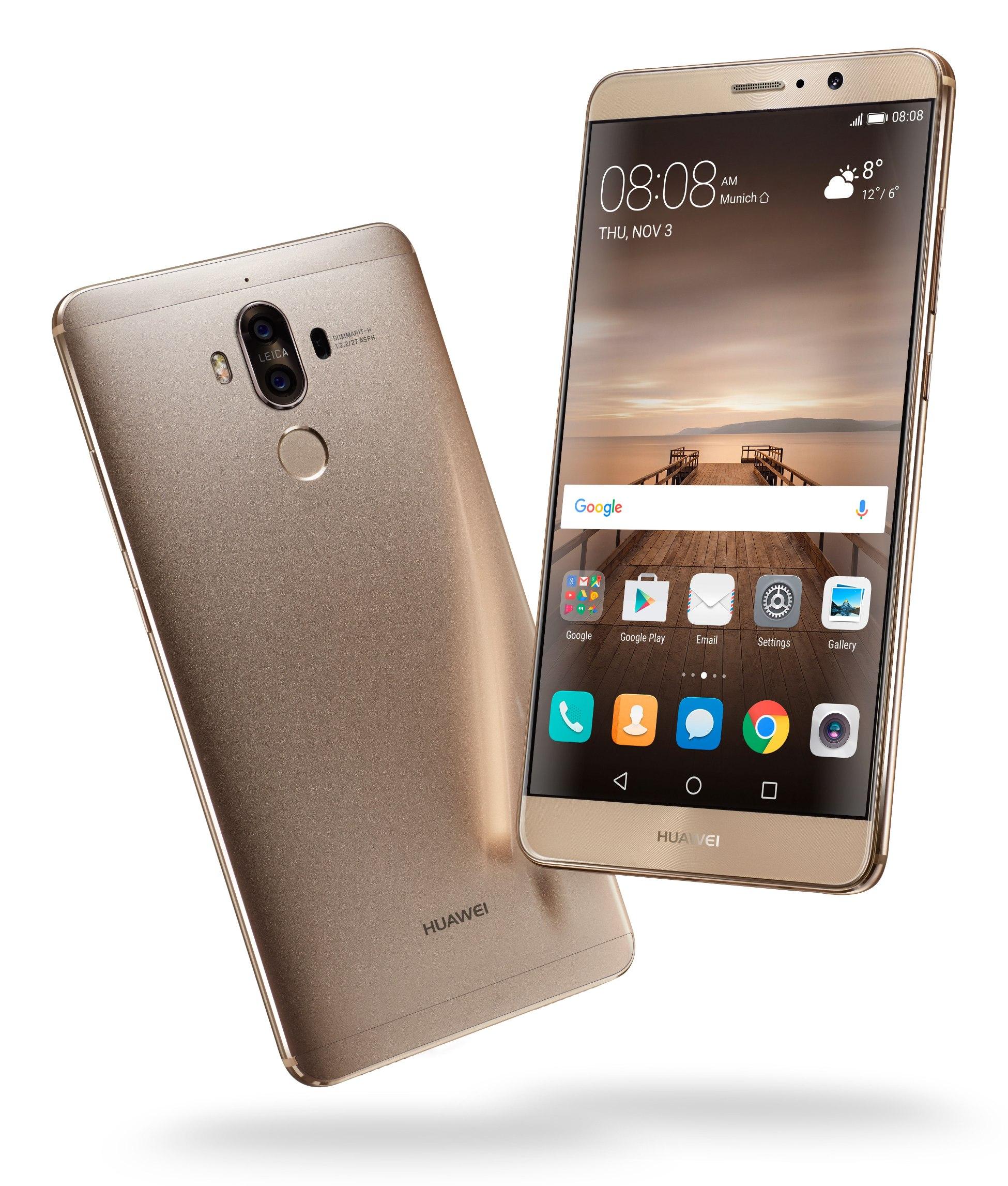 Huawei Mate 9's EMUI 5.0