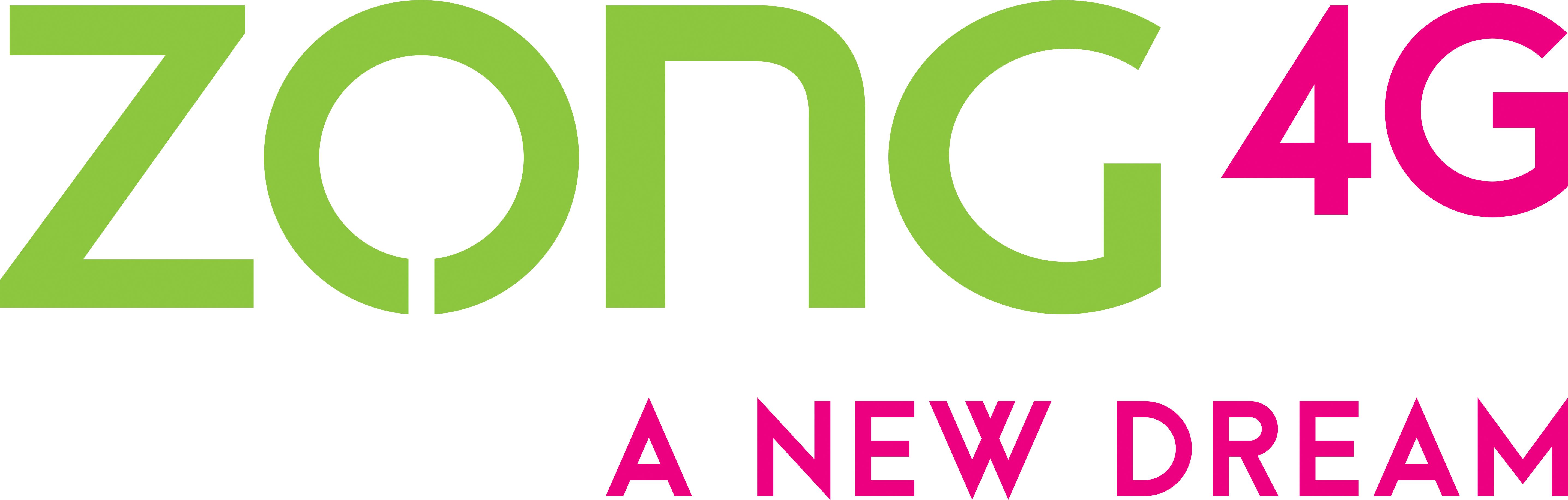 Zong 4G A New Dream Logo