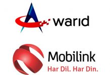 Mobilink and Warid transaction